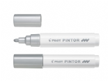 Silver Medium Pilot Pintor Paint Marker